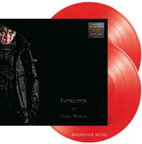 """Gary Numan """"Intruder"""" *Exclusive Ltd. Ed. Red Vinyl* {2xLPs!}"""