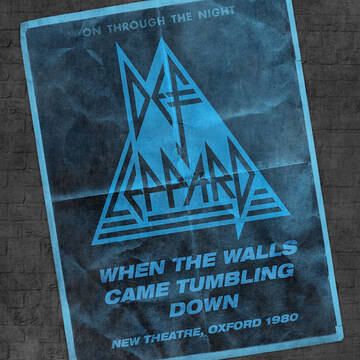 """DEF LEPPARD """"WHEN THE WALLS CAME TUMBLING DOWN"""" *RSD 2021*"""