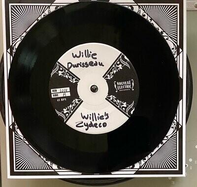 """Willie Durisseau """"Blues à Durisseau / Willie's Zydeco"""" *45* 2021"""