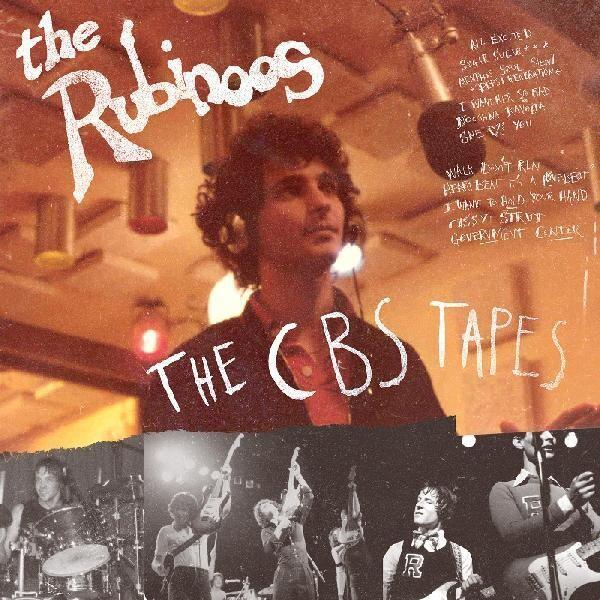 """The Rubinoos """"The CBS Tapes"""" 1st Ed. Red & Black Splatter Vinyl"""