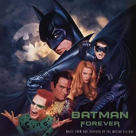 """Various """"Batman Forever"""" (OST) *Ltd. Ed. Blue & Silver Vinyl*"""
