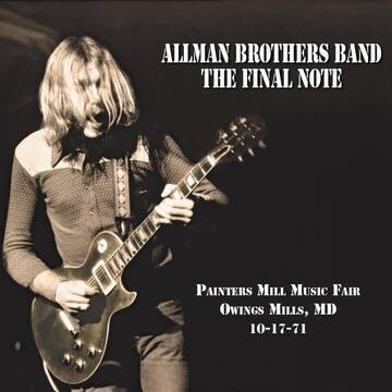 """Allman Brothers Band """"The Final Note"""" *RSD 2021*"""