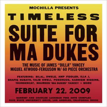 "Various ""Timeless: Suite For Ma Dukes"" *RSD 2021*"