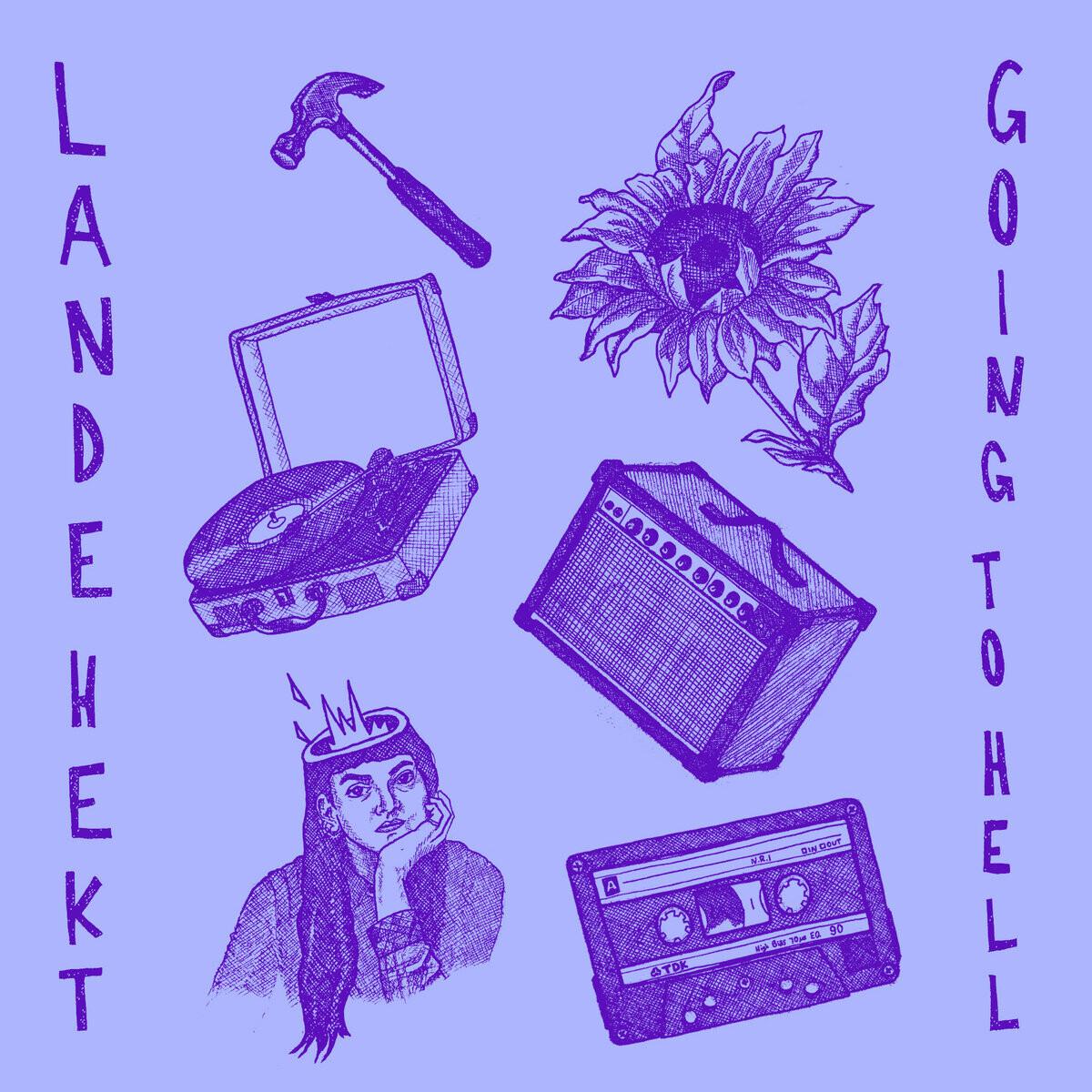 "Lande Hekt ""Going To Hell"" *Ltd. Pink Vinyl*"