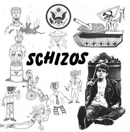 """Schizos """"Schizos"""" {ltd. ed. 200, numbered} *Red Vinyl!*"""