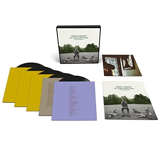 """George Harrison """"All Things Must Pass: 50th Anniversary"""" *Deluxe Ed.* {5xLPs!}"""