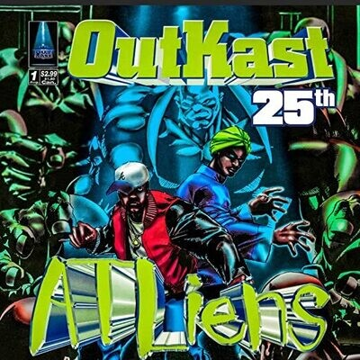 """OutKast """"ATLiens (25th Anniv. Deluxe Ed.)"""" {4xLPs!}"""