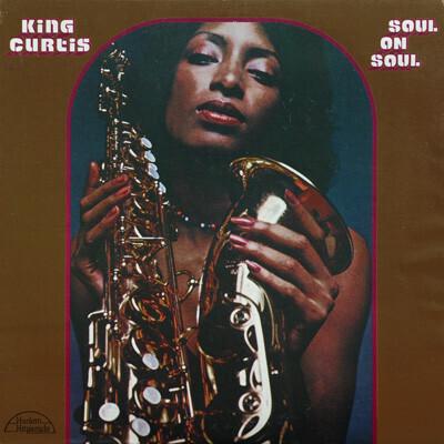 """King Curtis """"Soul On Soul"""" VG+ 1973"""