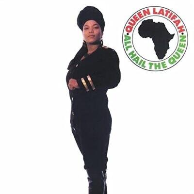"Queen Latifah ""All Hail The Queen"" *Clear Red Vinyl*"