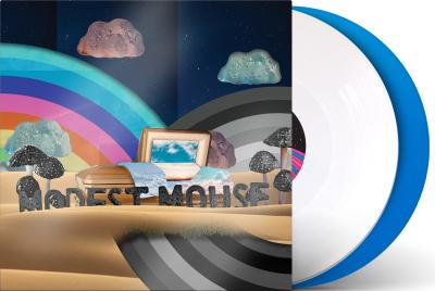 """Modest Mouse """"The Golden Casket: Deluxe Ed."""" *Skyblue/White Vinyl!*"""