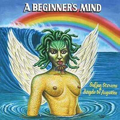 "Sufjan Stevens & Angelo De Augustine ""A Beginner's Mind"" *Olympus Perseus Shield Gold Vinyl*"