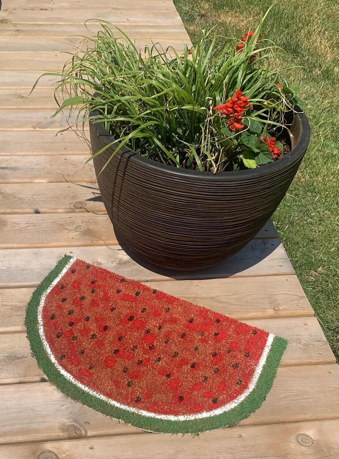 Watermelon Doormat