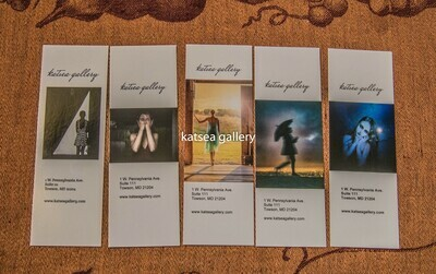Bookmarks Set of 5
