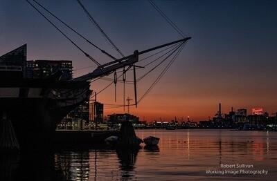 Daybreak Inner Harbor