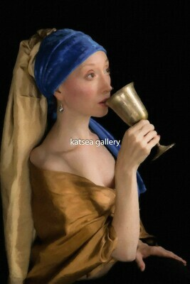 Girl with Gold Cup