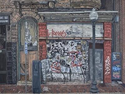 Baltimore Ruins XIII(A War of Words)