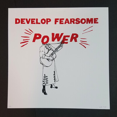 FEARSOME POWER poster