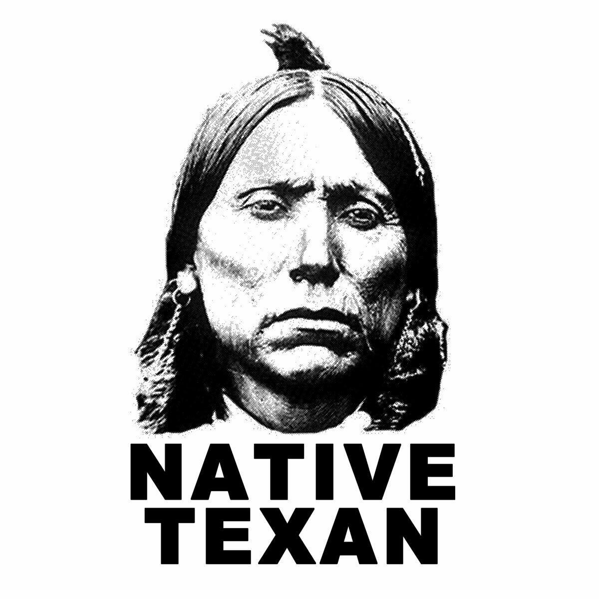 NATIVE TEXAN Quanah Parker shirt
