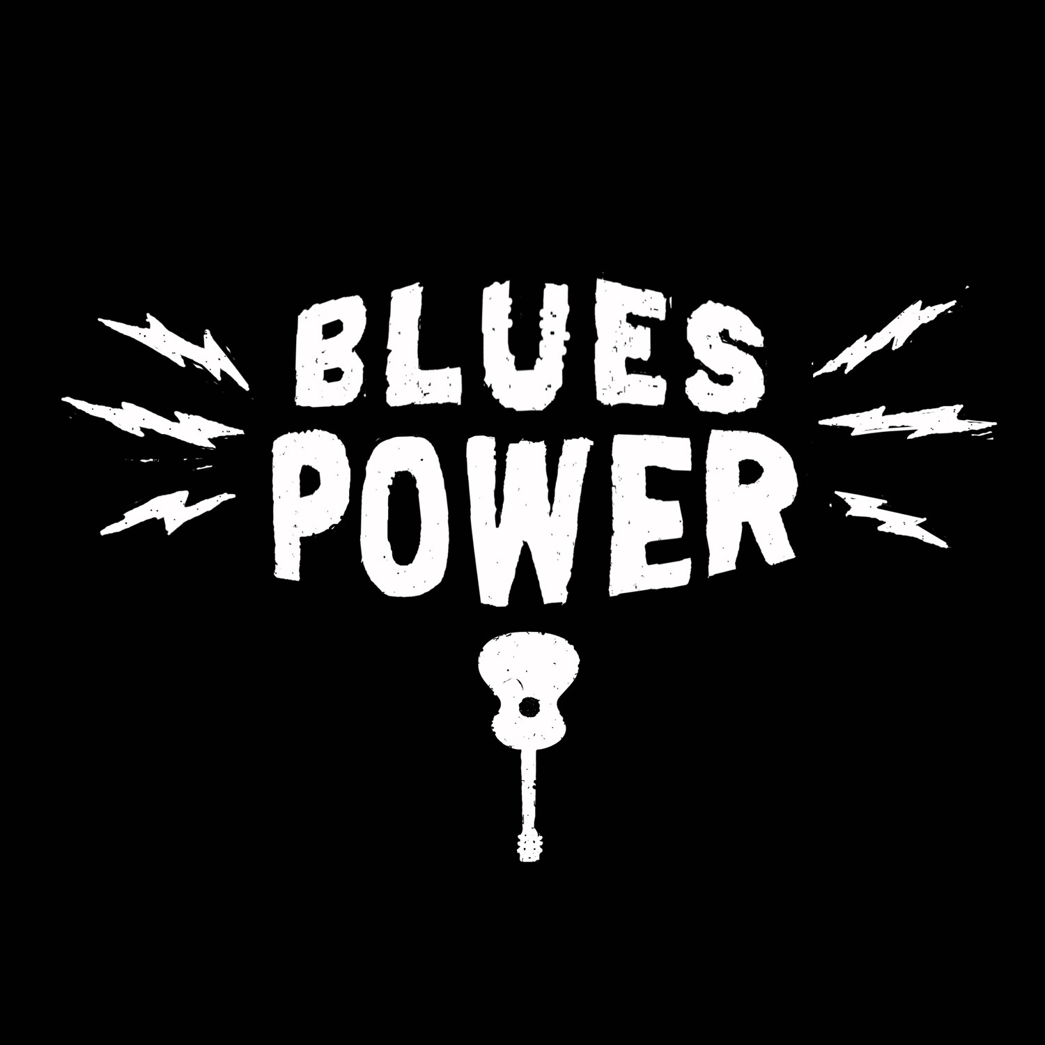 BLUES POWER black shirt