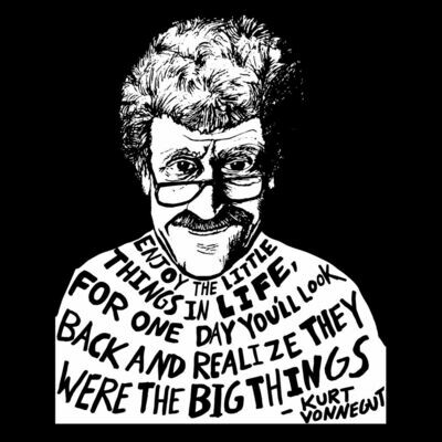VONNEGUT little things shirt