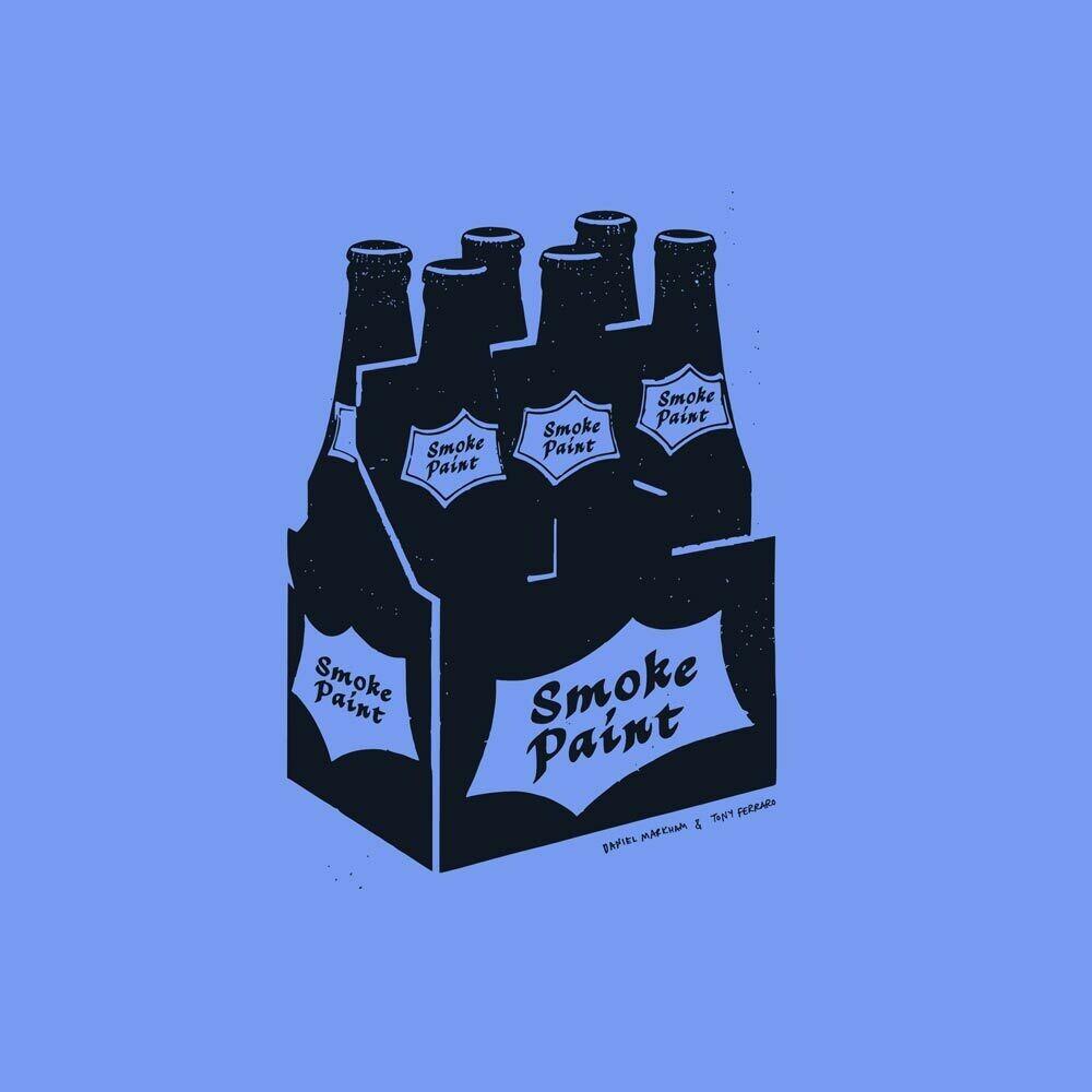 SMOKE PAINT the shirt