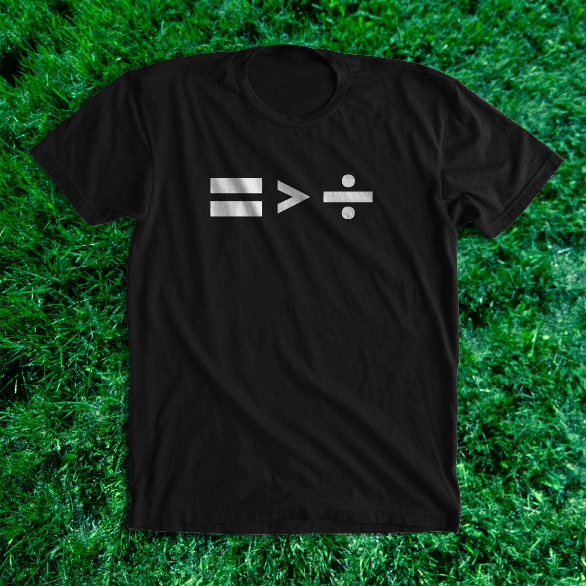GREATER THAN - black tee