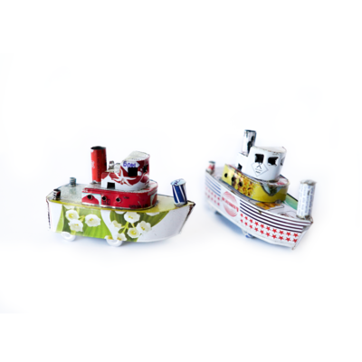 Model tug boats