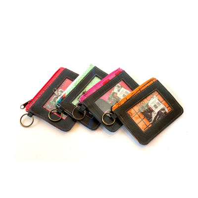 Recycled Tire ID Holder Mixed
