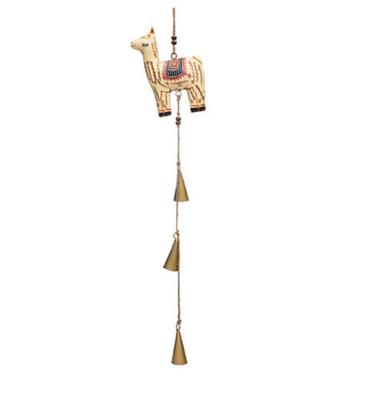 Henna Treasure Bell Chime Llama