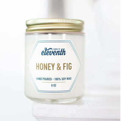 Candle Honey And Fig 8 Oz