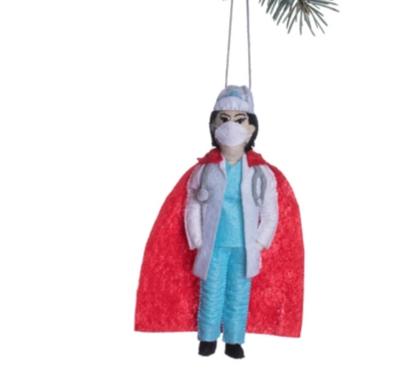 Super Doctor Ornament