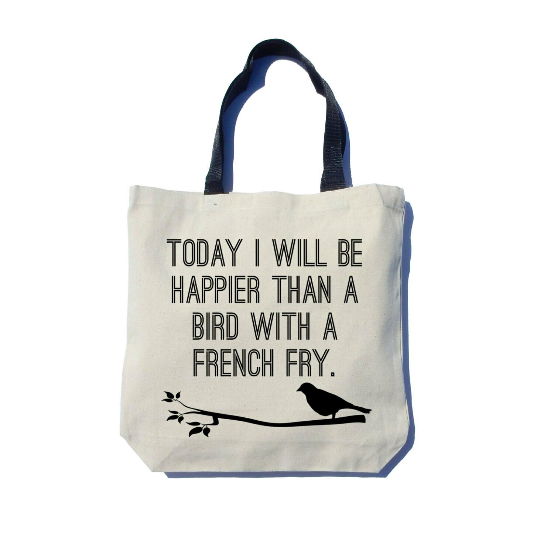 Ash & Ember Happy Bird Tote