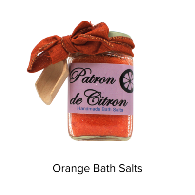 Patron de Citron Orange Bath Salts