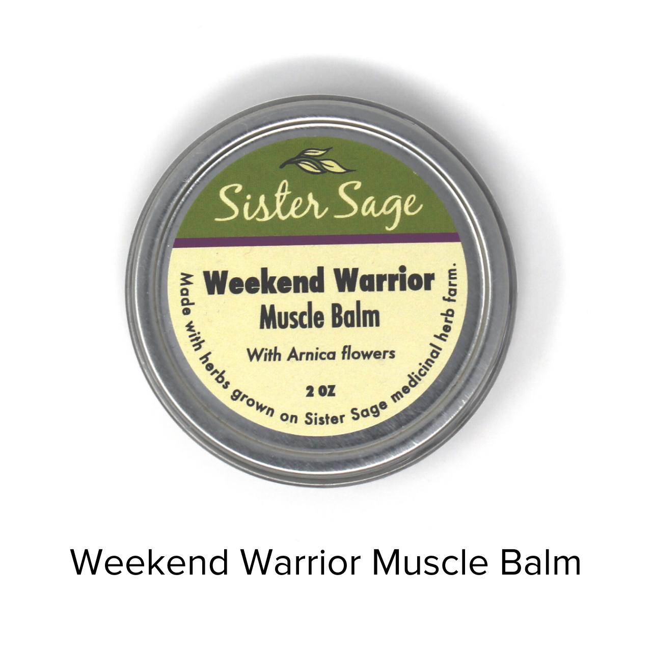 Sister Sage Balm Weekend Warrior