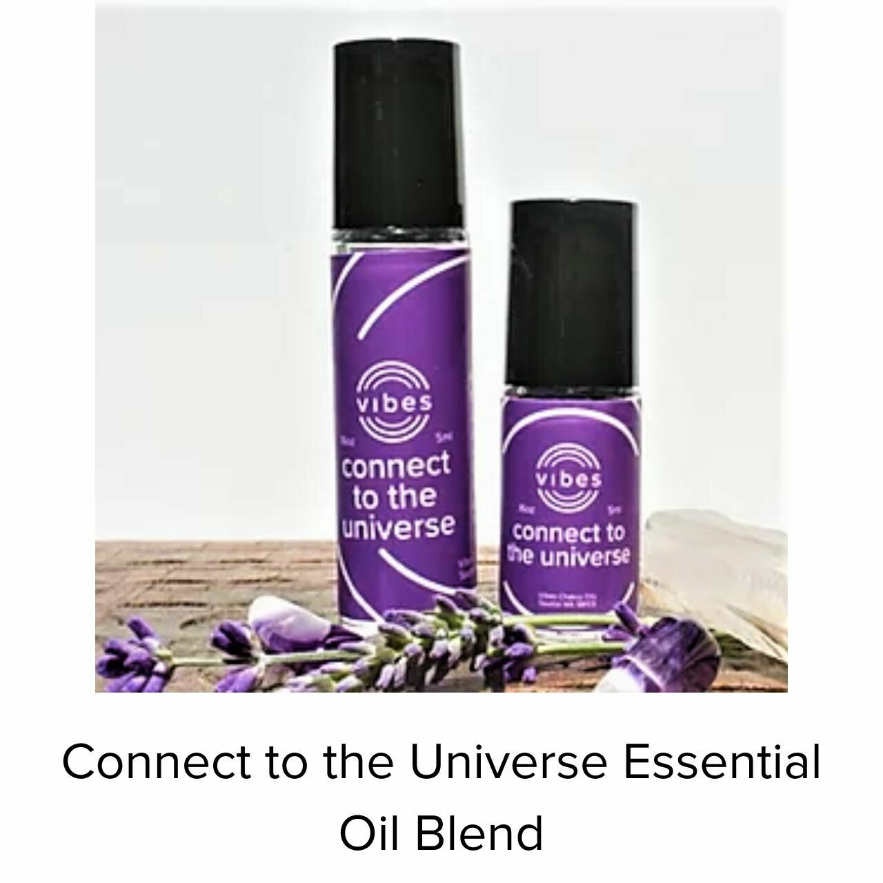 With Charli Oil Connect to the Universe