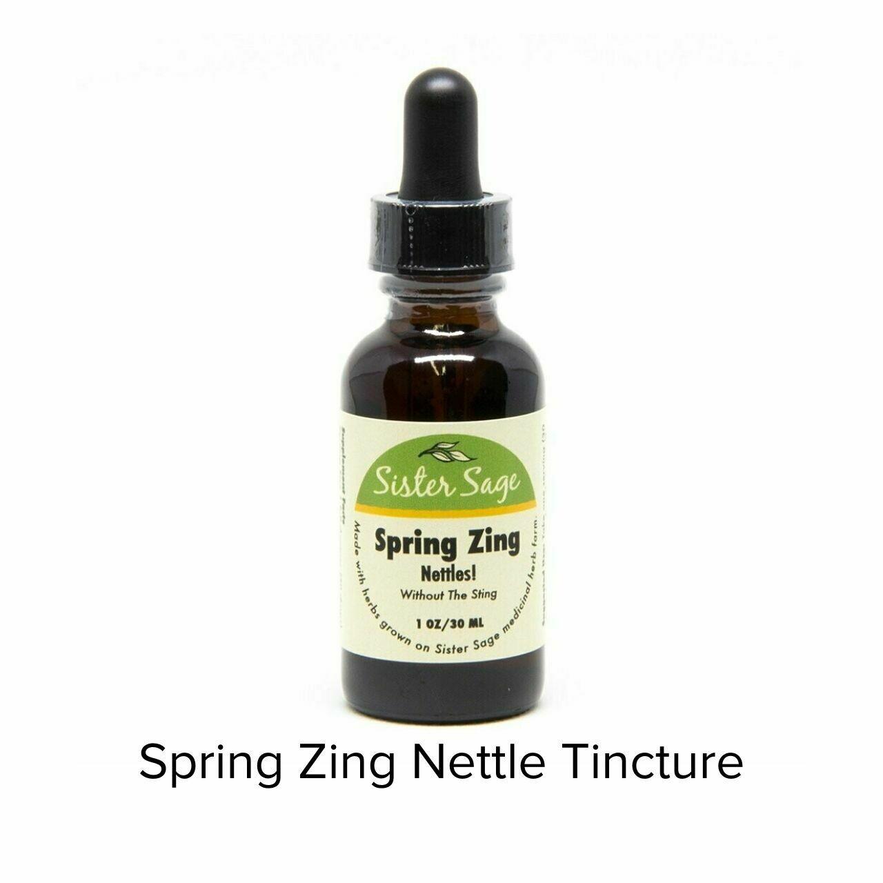 Sister Sage Spring Zing Tincture