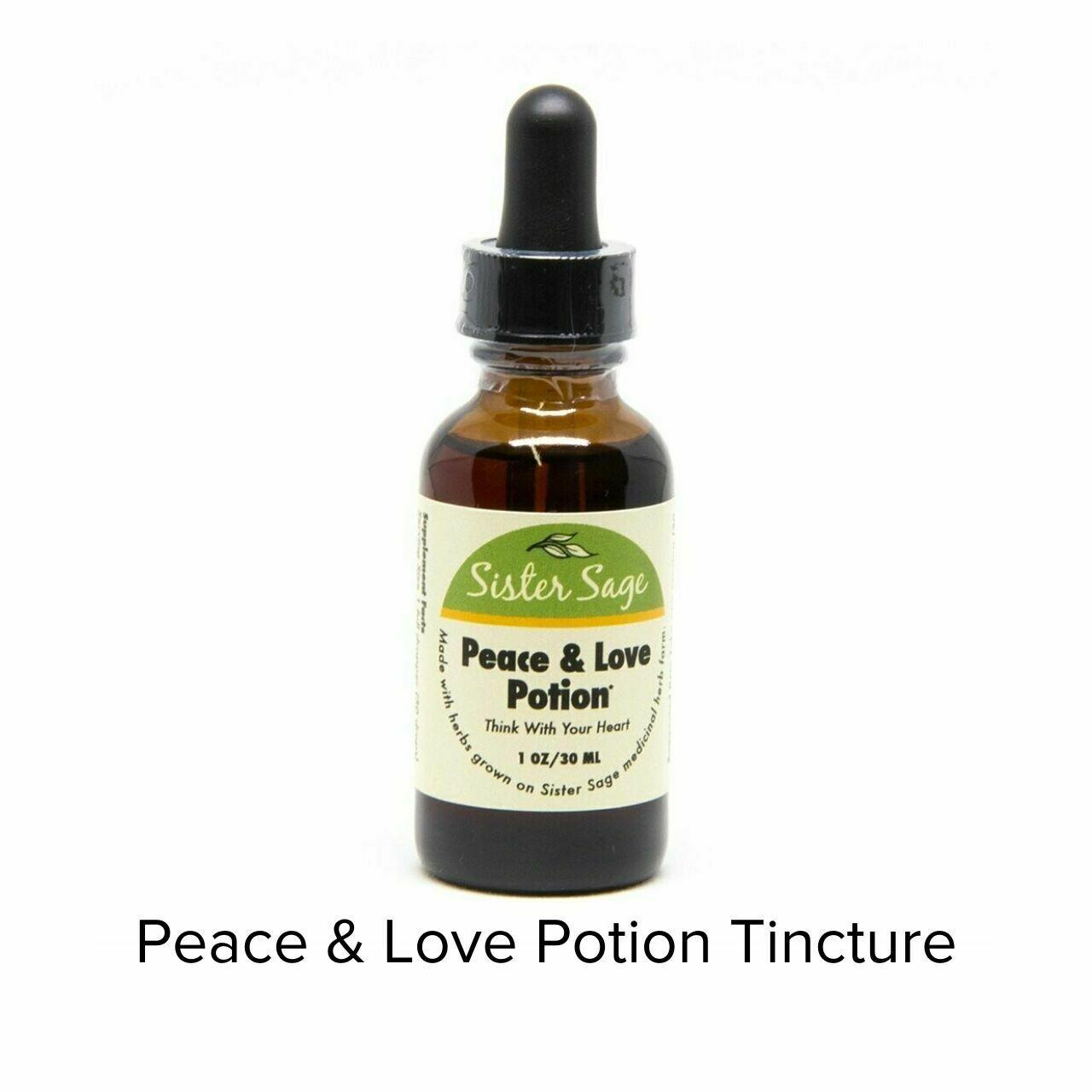 Sister Sage Peace Love Tincture