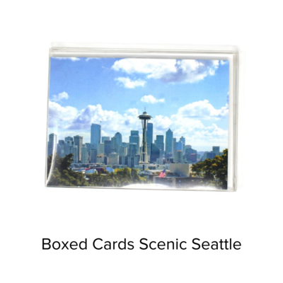BJ Boxed Cards Sm Scenic Seattle