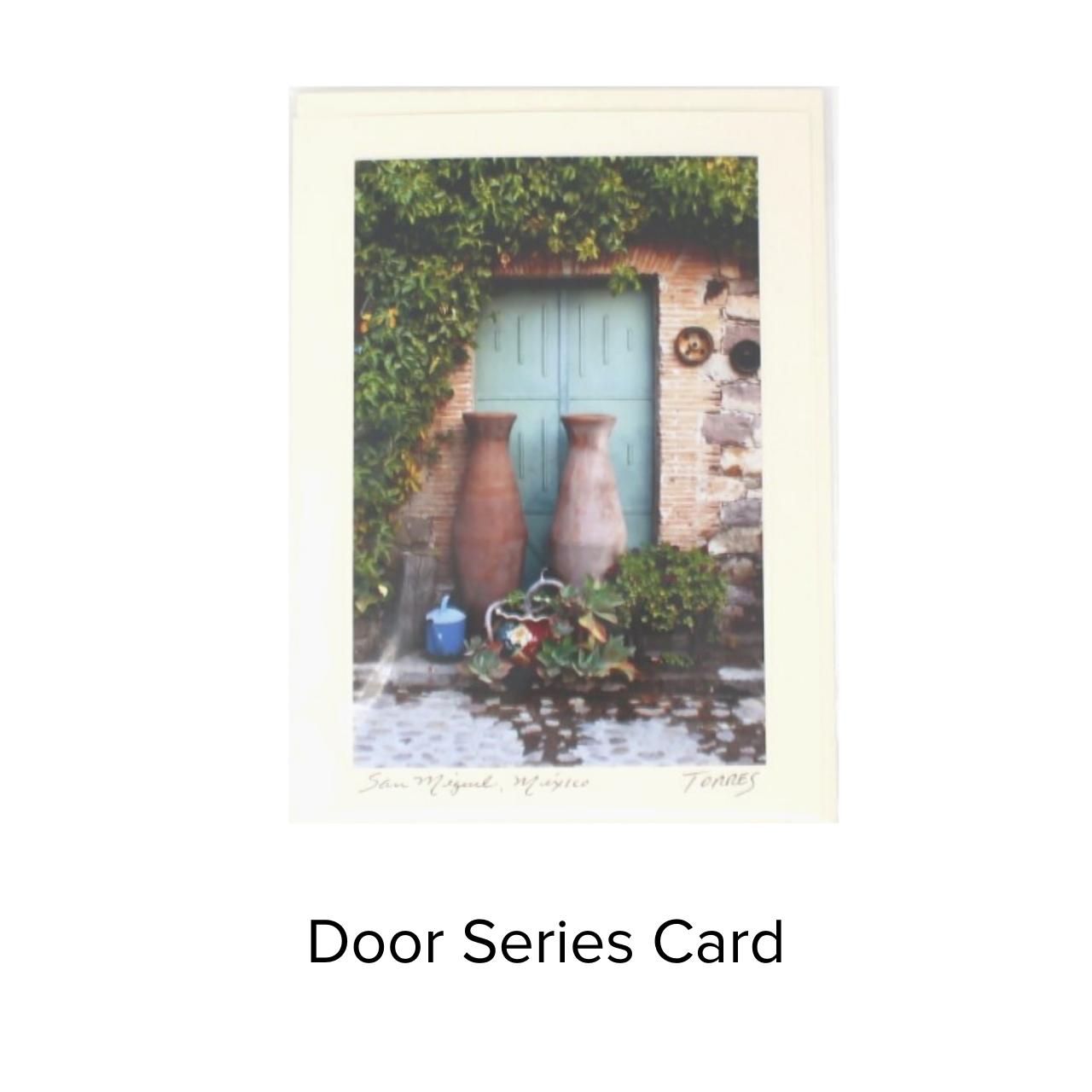 Fotografia Artistica Card Door Series
