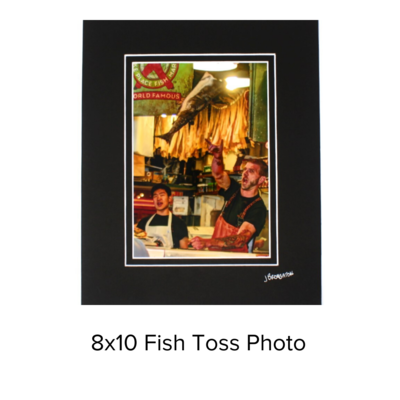 John Broughton Photo 8x10 Fish Toss