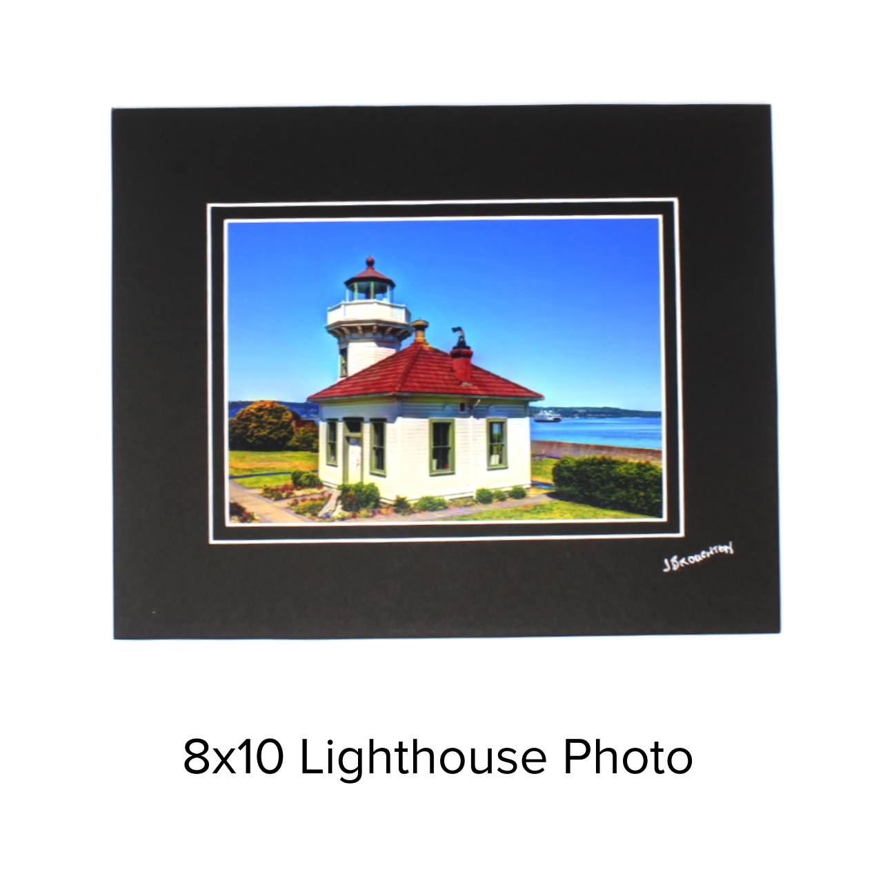 John Broughton Photo 8x10 Lighthouse
