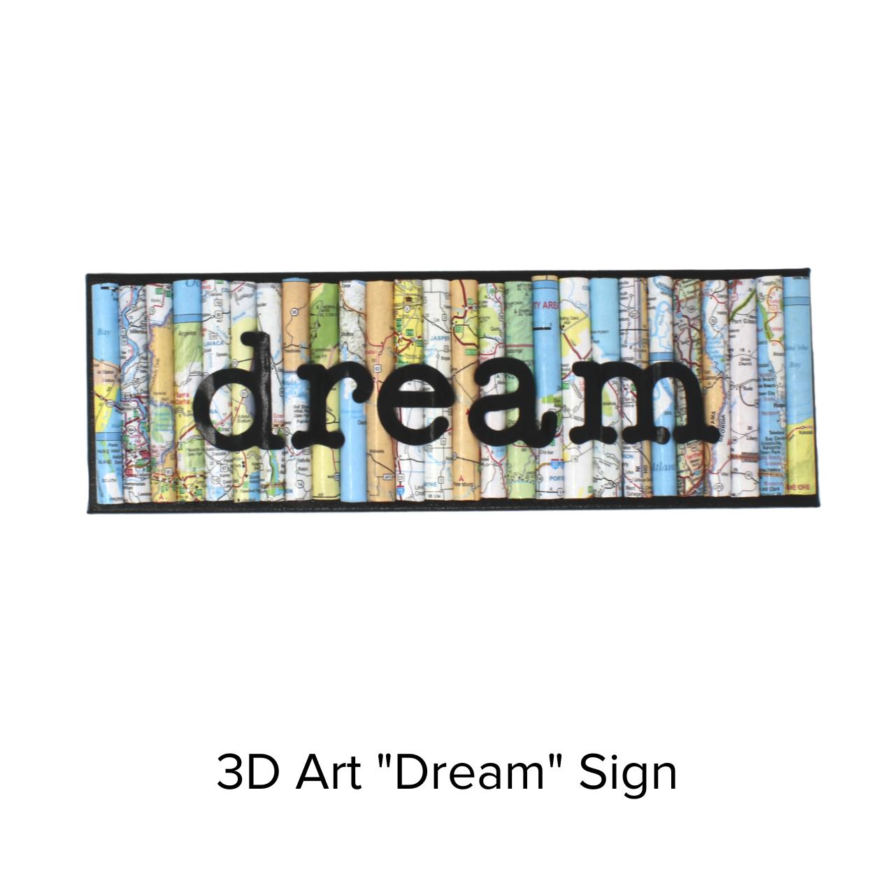 Ramona Claire Art 3D 4x12 Dream/Maps