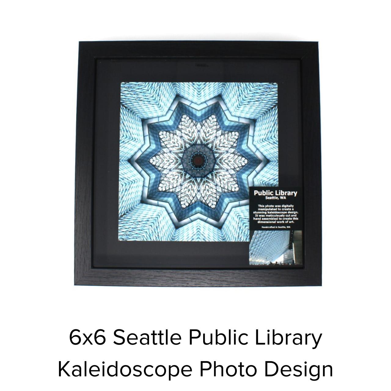 LaGrave Designs 6x6 Seattle Public Library
