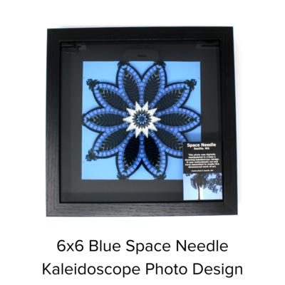 LaGrave Designs 6x6 Blue Space Needle