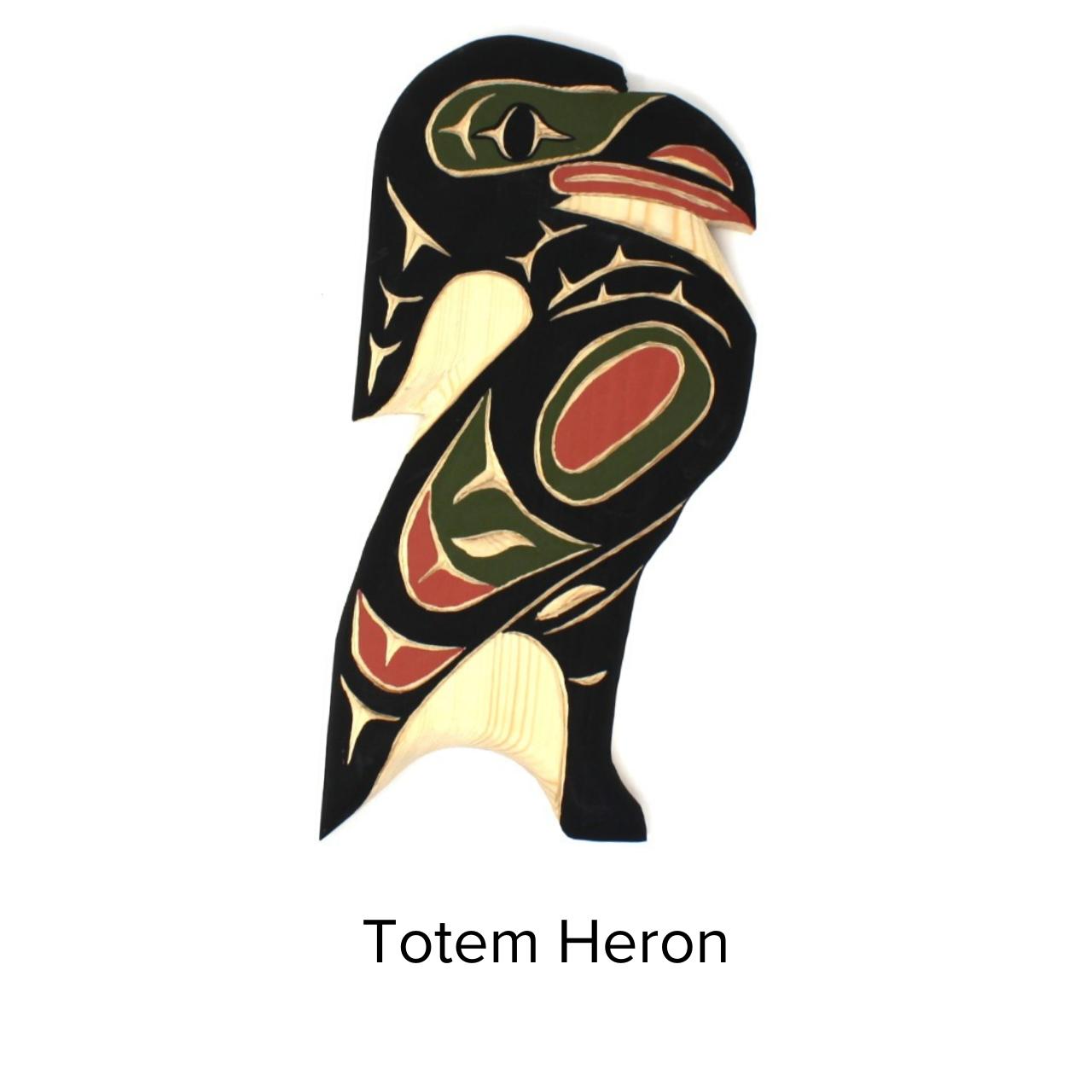 Firewoman Studio Totem Med Heron