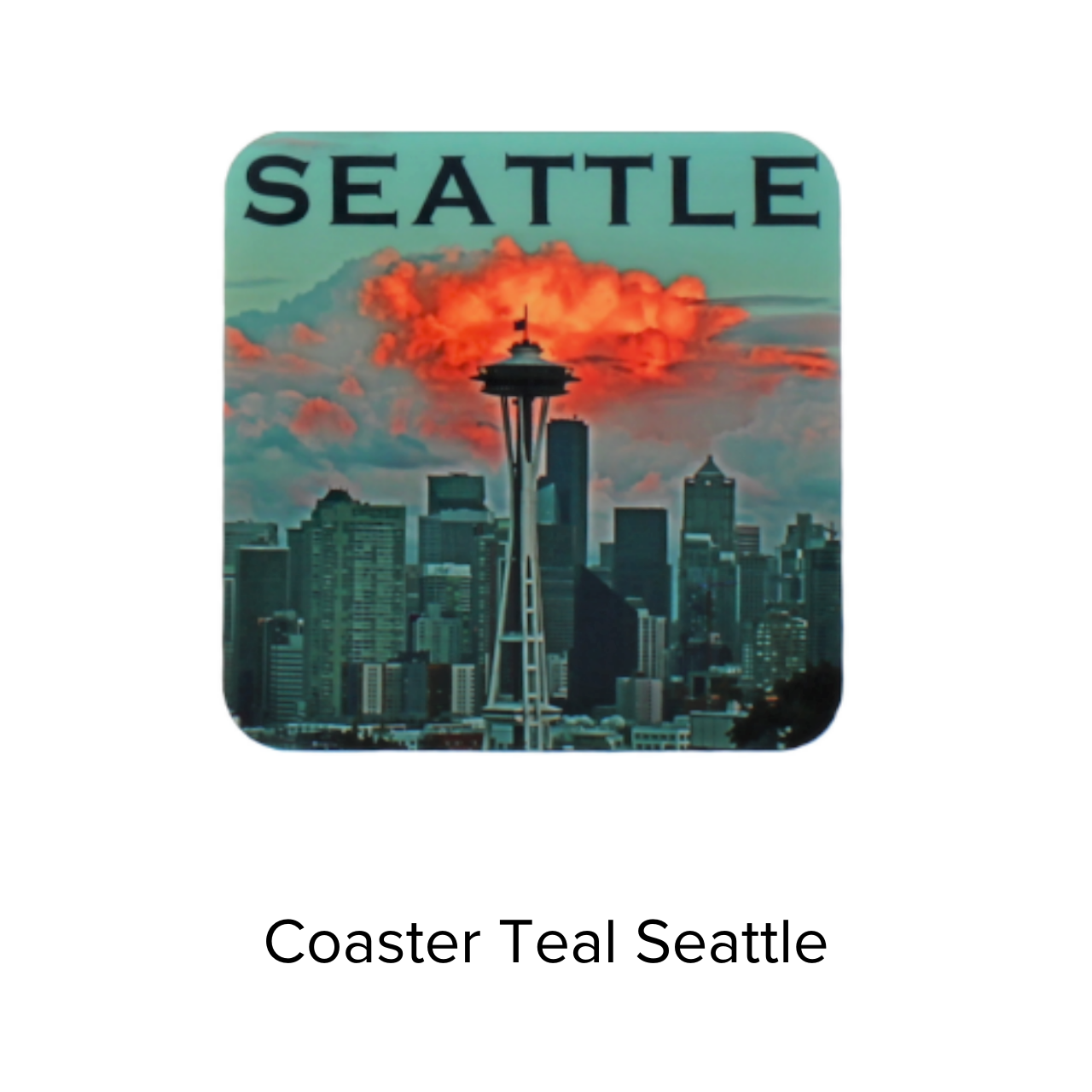 Royal Phoenix Coaster Teal Seattle