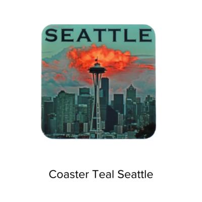 Royal Phoenix Coaster Teal Seattle