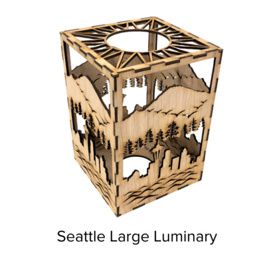 Sunbird Luminary Lg SeattleRainier LUM106