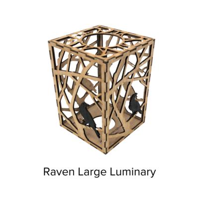 Sunbird Luminary Lg Raven LUM105
