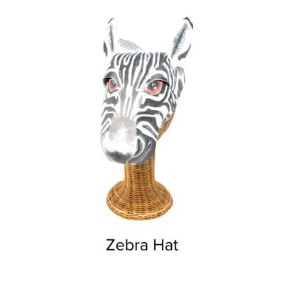 Waterhole Orantes Original Animal Hat Zebra